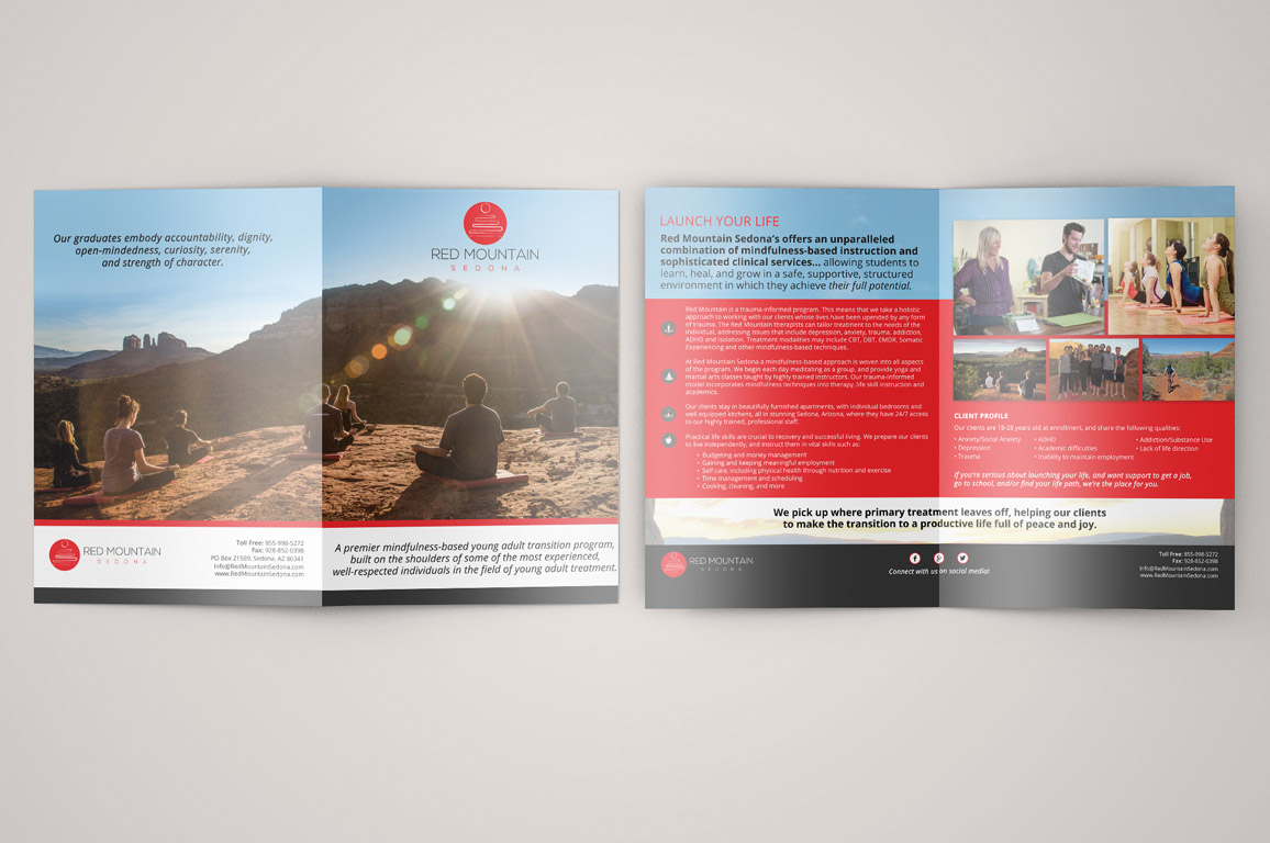 Red Mountain Sedona brochure